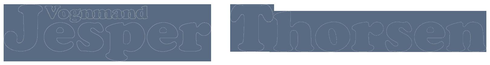 Vognmand Jesper Thorsen Logo